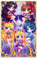 Sailor Scouts by Blushy-Pixy