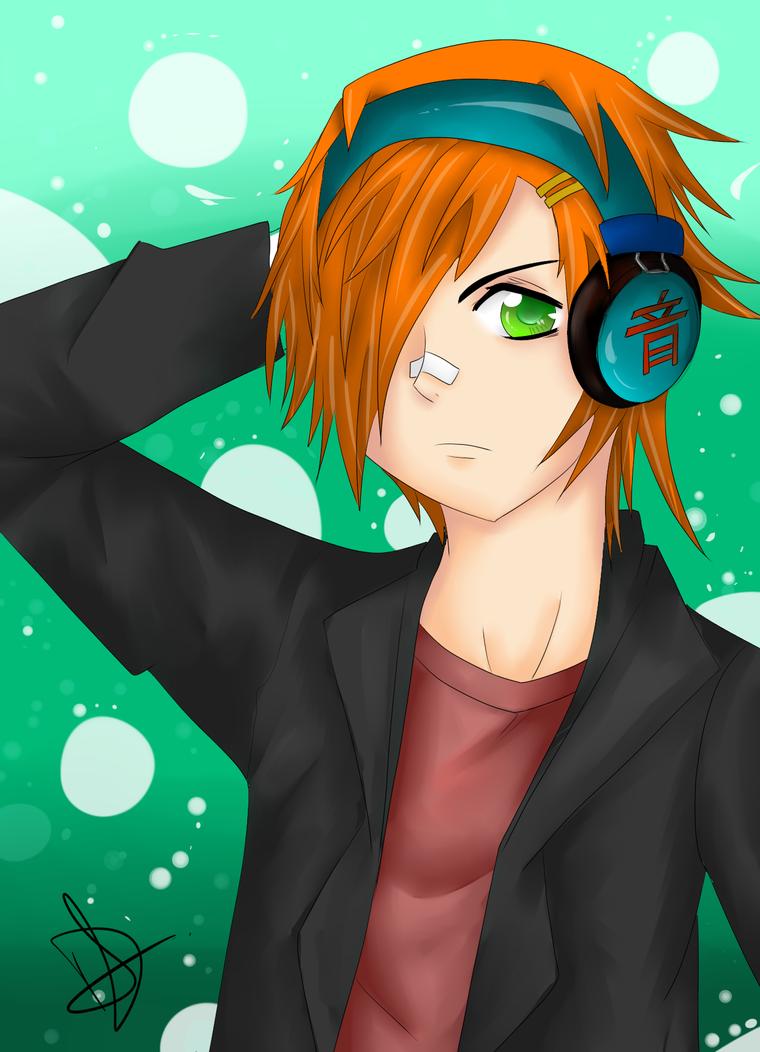 boy with orange hair by lolchild on deviantart