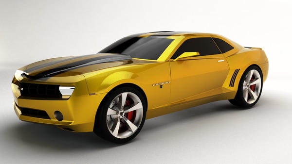 Bumblebee Chevrolet Camaro Ss Concept 2010 By Aereomac92