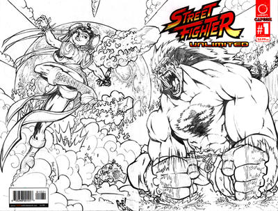 street fighter unlimited cover by GroovyDead