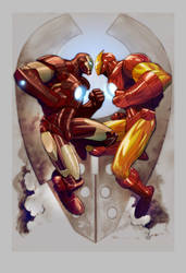 Iron Man by ryanbnjmn