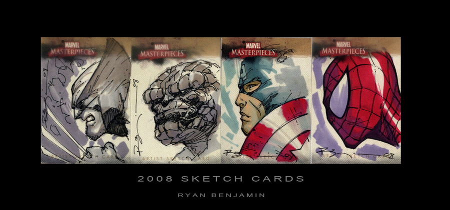 Marvel Cards by ryanbnjmn