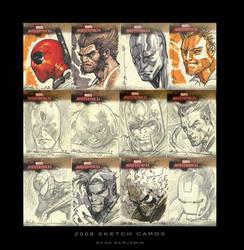 Marvel Cards ...again by ryanbnjmn