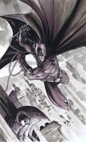 Batman Commission BW