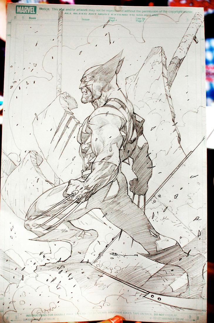 WolverineSketch by ryanbnjmn