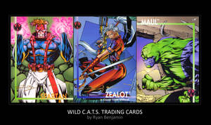 Old WildCATS Trading Card