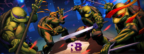 Ninja Turtles by ryanbnjmn
