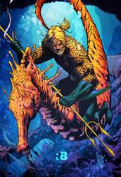 Aquaman by RyanB by ryanbnjmn