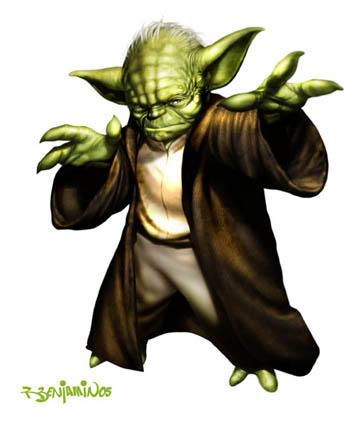 Yoda, verlo en imagenes tu debes