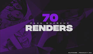 Supreme Pack renders [70 renders] by SupremeGraphTeam