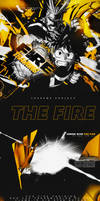 TAGWALL #18 : The Fire - Nagi x Amne by SupremeGraphTeam