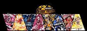 TAG WALL #21 : 2 YEARS | Supreme Birthday
