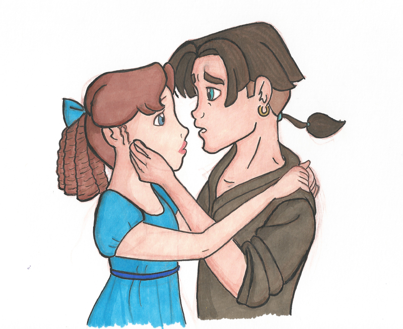 how to give kiss to girl