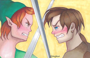 Peter and Jim Face Off