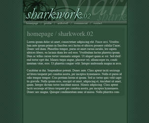 Sharkwork.net v2 experiment by kabir-dc