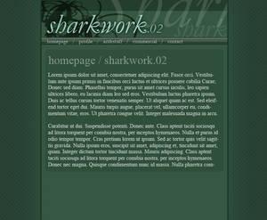 Sharkwork.net v2 experiment