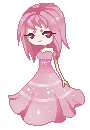 :Pixelart AT: Princess Strawberry by rosiluna