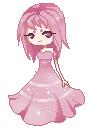 :Pixelart AT: Princess Strawberry by rosiluna