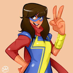 Ms. Marvel Revision by tomaytoTOMAHTO