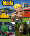 Percy and diesel 10 hates bob the builder 2015