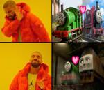 Drake Meme - Percy x Diesel 10