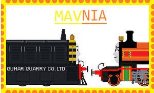 Mavnia-Stamp