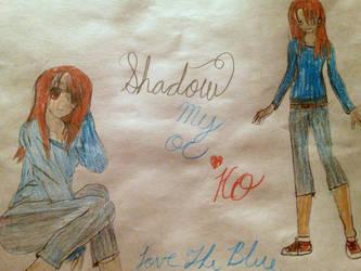 My OC shadow by Lovetheblue