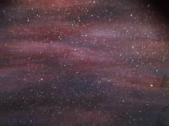 Acrylic Deep space by Lovetheblue