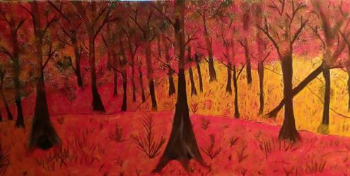 Arkansas fall by Lovetheblue