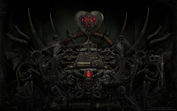 Mnemonic Gothikardia - Red by JesseLax
