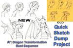[QSDP] Dragon Transformation Bust Sequence