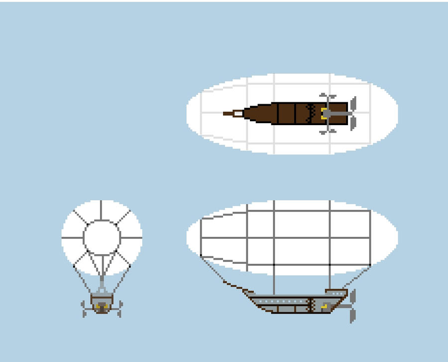 Minecraft Airship design 2 by brubee2k on DeviantArt