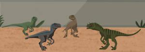 Raptor Squad by Patkall