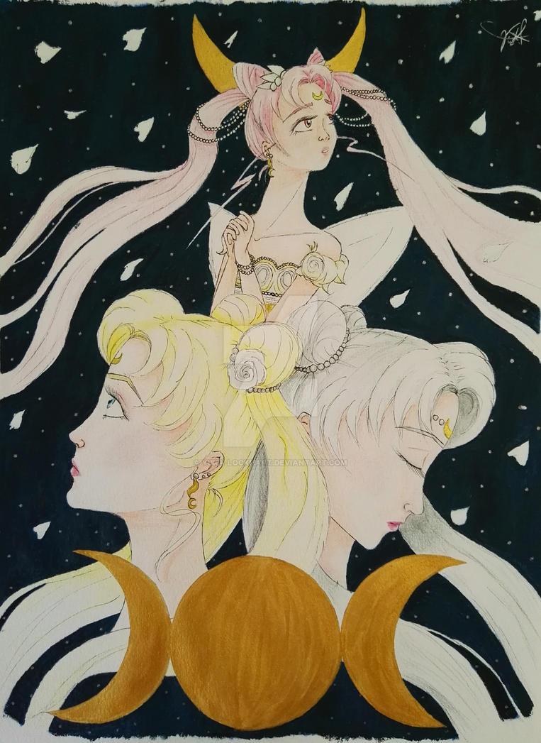 Triple Moon by Yuka-Lockhart