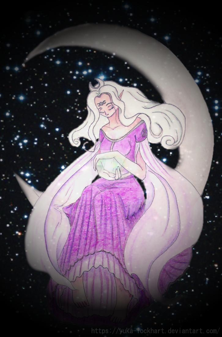 Moon Goddess by Yuka-Lockhart