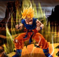 Goku ssj by Ziecoco