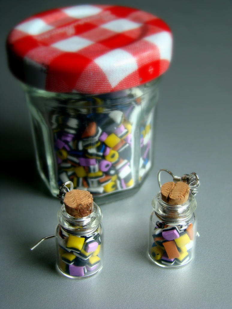Liquorice allsorts in a bottle by Sandien