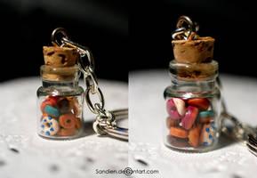 Mini Donuts in a Bottle by Sandien