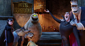 Welcome to the Hotel Transylvania.