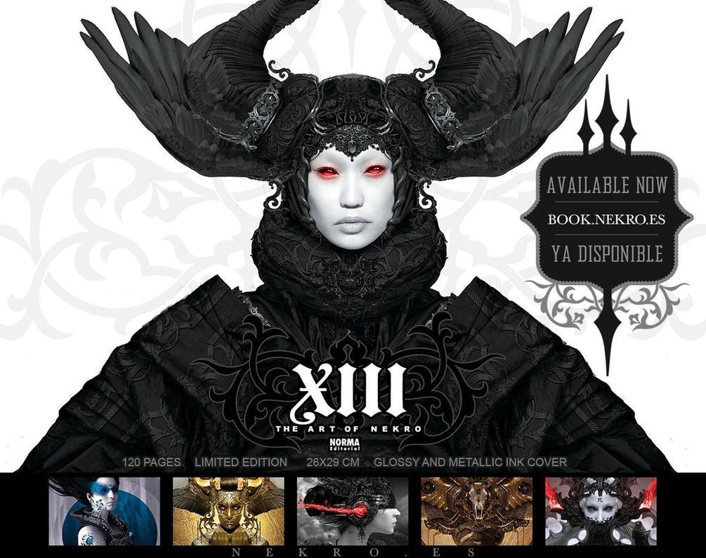 XIII: the art of Nekro Artbook by NekroXIII