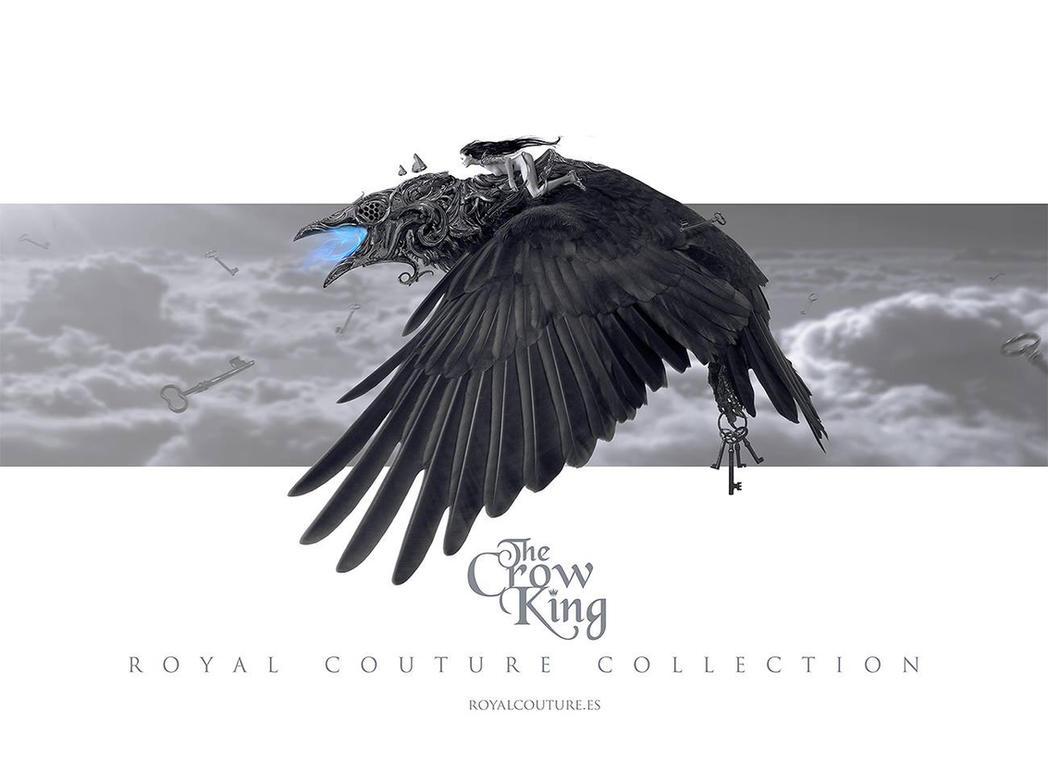 The crow king by NekroXIII