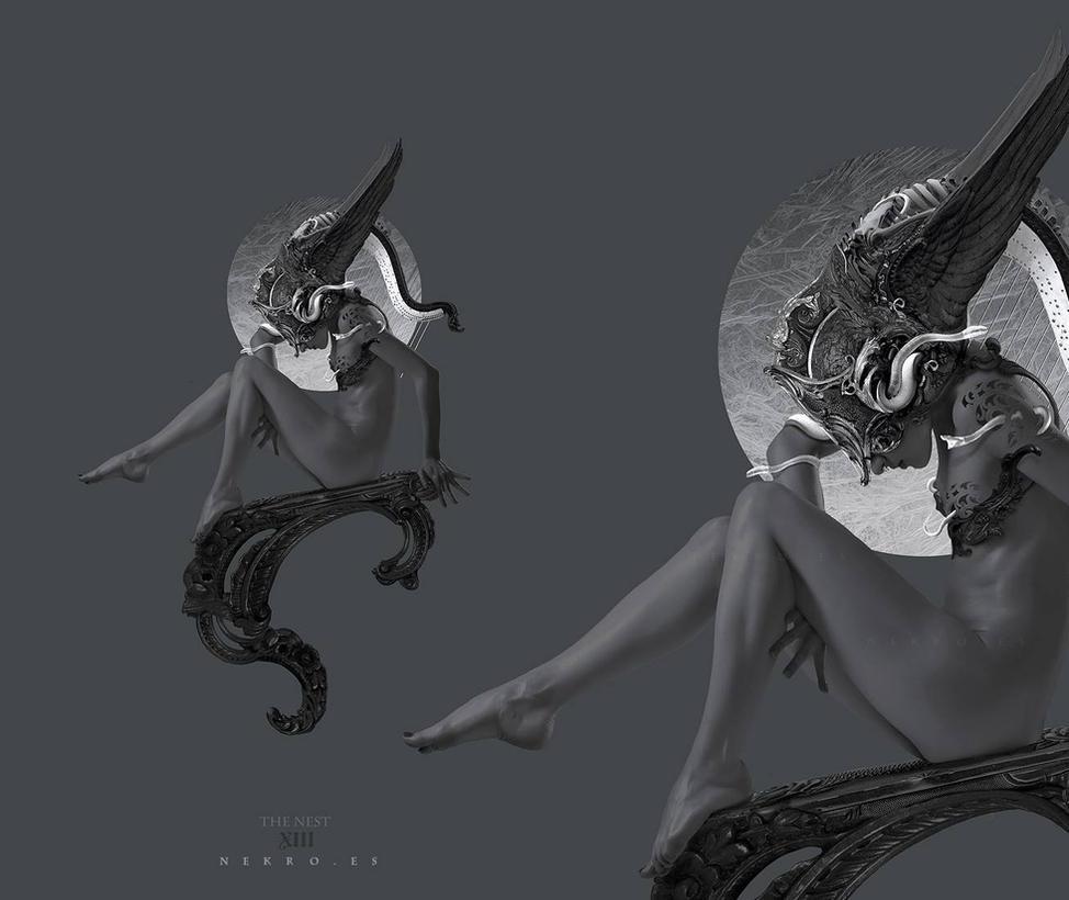 The Nest -Harp Series- by NekroXIII