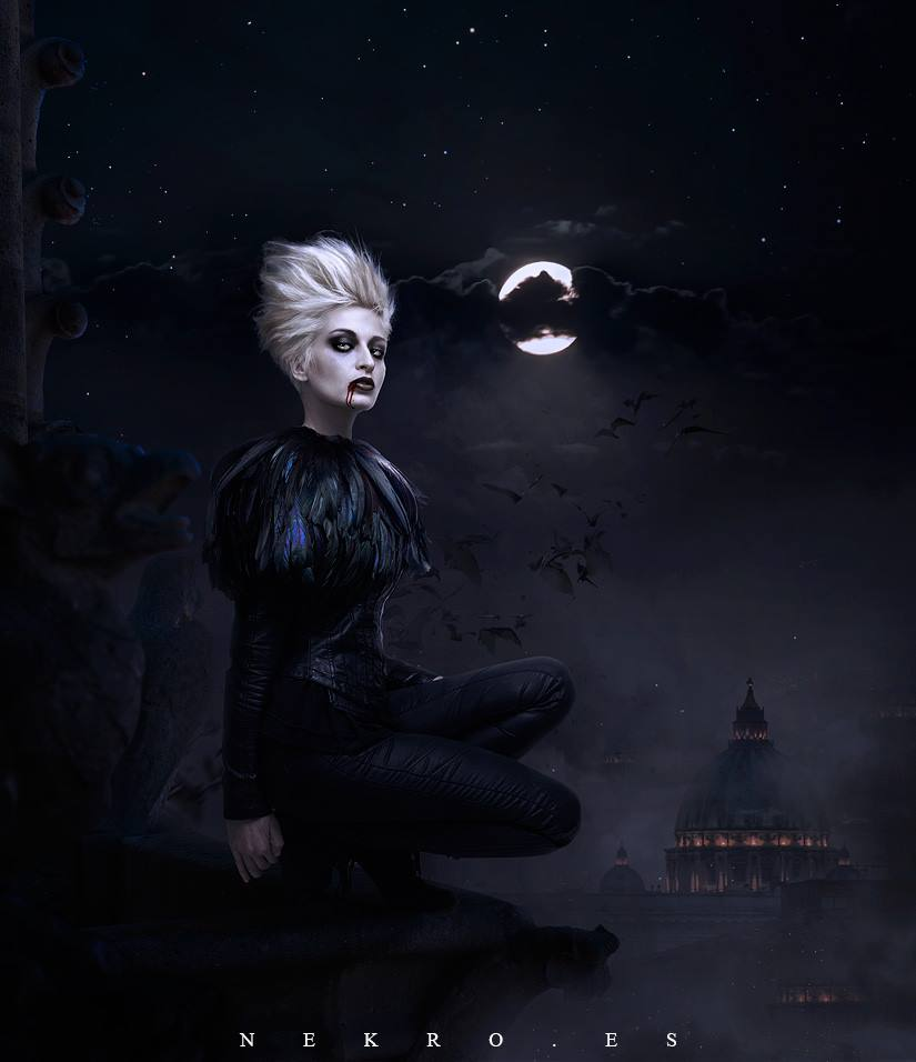 Darkness Falls by NekroXIII