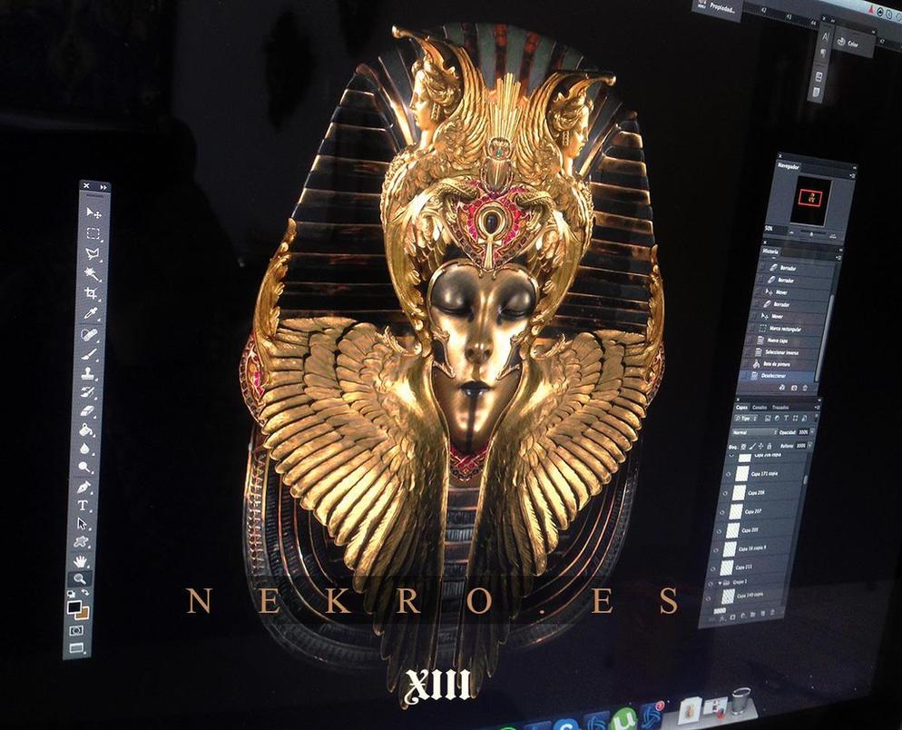 Sun's coffin (work in progress) by NekroXIII