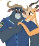 Zootopia Bogo and Gazelle