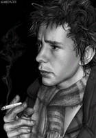Johnny Rotten by angelpunk22