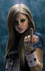 Avril Lavigne by angelpunk22