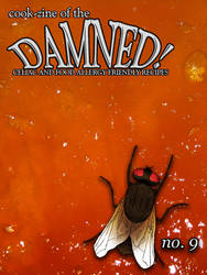 Cook-zine of the Damned Issue 09 Cover by romanysoup