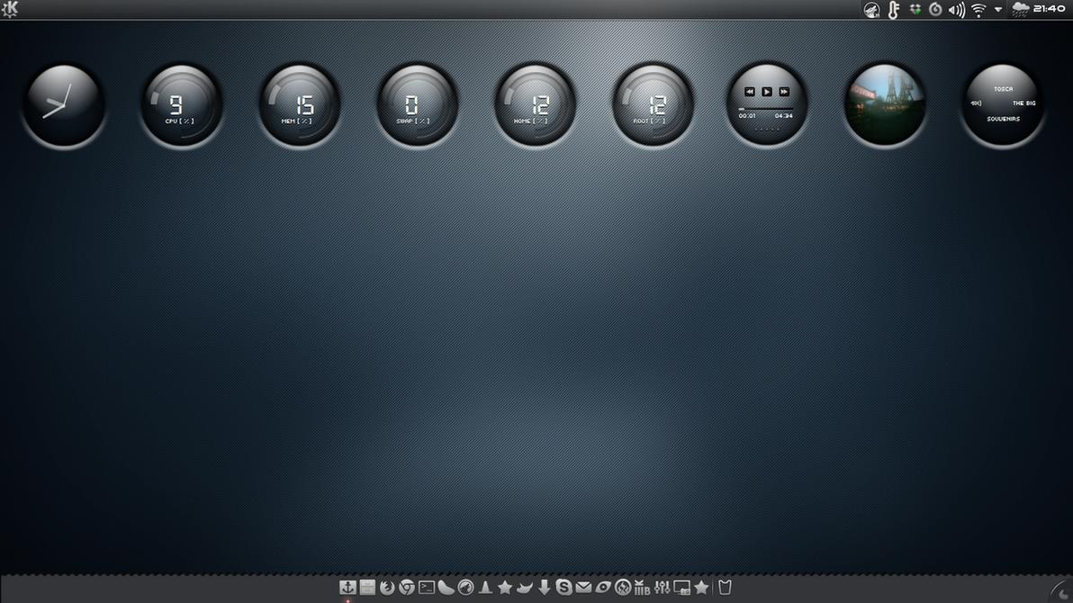 Blue KDE by miguelsanchez666