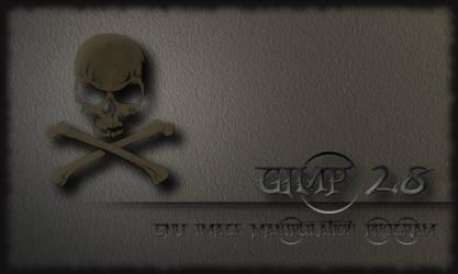 Gimp 2.8 Splash Screen by miguelsanchez666